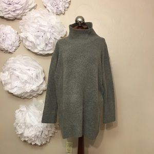 Zara Sweaters - ZARA oversized poloneck turtleneck sweater M
